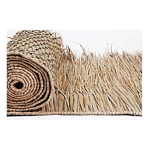 8' Tiki Hut Bar Mexican Palm Roof Thatch Runner Roll 30