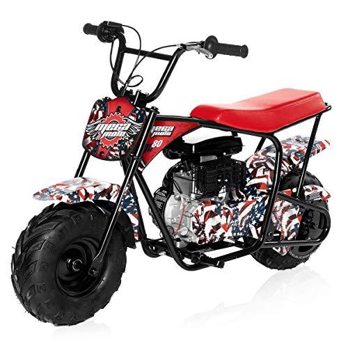 Monster Moto - Gas Mini Bike - 80CC/2.5HP (MM-B80-AF)(American Flag)