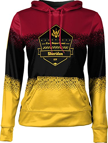 Price comparison product image ProSphere Girls' Cane Creek Volunteer Fire Department Drip Pullover Hoodie