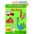 How to Draw the Farm (how to draw comics and cartoon characters Book 7)