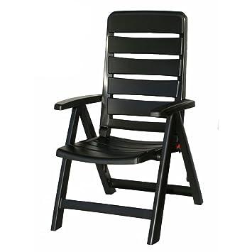 Kettler Nice Chaise de jardin dans Anthracite Chaise pliante meubles ...