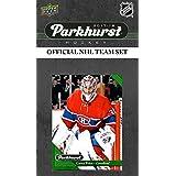 Montreal Canadiens 2017 2018 Upper Deck PARKHURST Series Factory Sealed Team Set including Carey Price, Alex Galchenyuk, Victor Mete Rookie Card plus