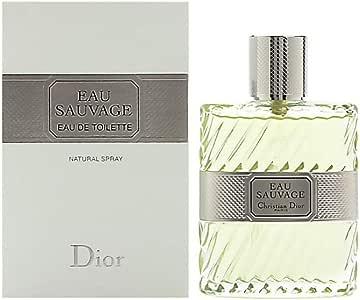 Christian Dior Eau de Toilette Spray for Men, Eau Sauvage, 100ml
