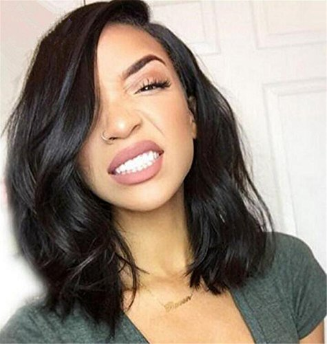 ATOZWIG Short Bob Synthetic Wigs Heat Hesistant Wave Synthetic Hair Wig Bob Style For Black Women (Wigs For Black Women)