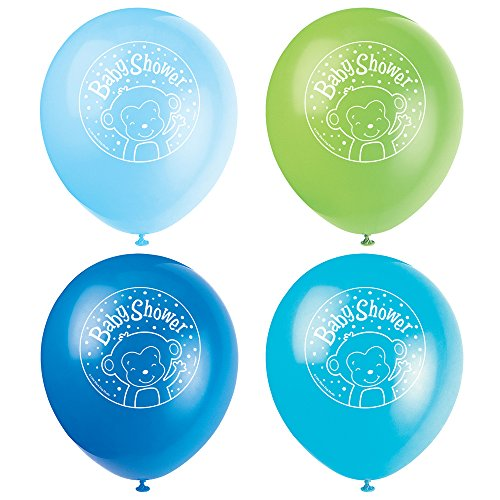 Latex Monkey Baby Shower Balloons