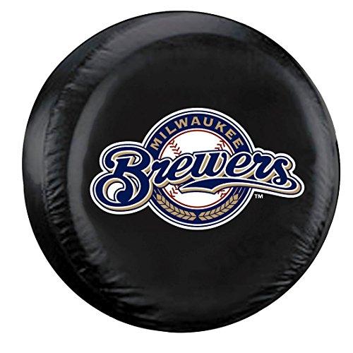 MLB Milwaukee Brewers Tire Cover (Milwaukee Brewers Car Mlb)