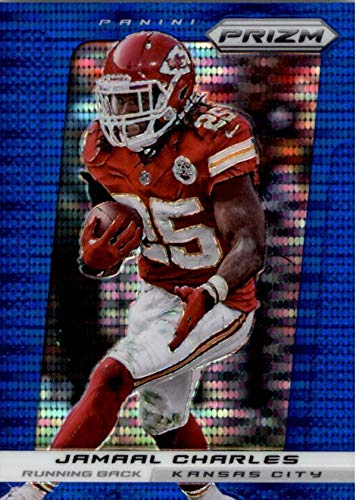 online retailer fc033 24464 Jamaal Charles football card (Kansas City Chiefs, RB) 2013 ...