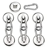 DIYMAG Magnetic Hooks,100LBS Strong Heavy Duty