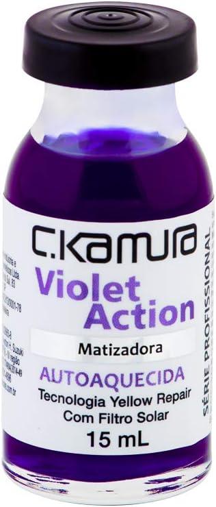 Superdose Autoaquecida Violet Action - Matizadora, C.Kamura, 15 ml