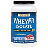 Fitness Labs WheyFit Isolate – 100% Whey Protein Isolate (2 Pounds, Strawberry Swirl) Review