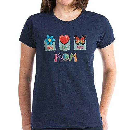 Navy Mom Heart Camo - 4