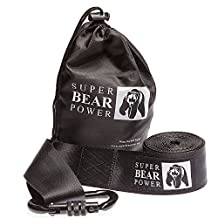 Heavy Duty Tree Swing Hanging Kit - 11 FT - Strap With Extra Strong Safer Lock Snap Carabiner Perfect For Tire and Disc Swings & Hammocks Holds Up 1000 lbs + Carry Bag, Easy Installation