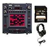 Korg KP3+ Kaoss Pad Dynamic Effects Sampler with 16GB Memory Card and Full-Size Stereo Headphones (Black)