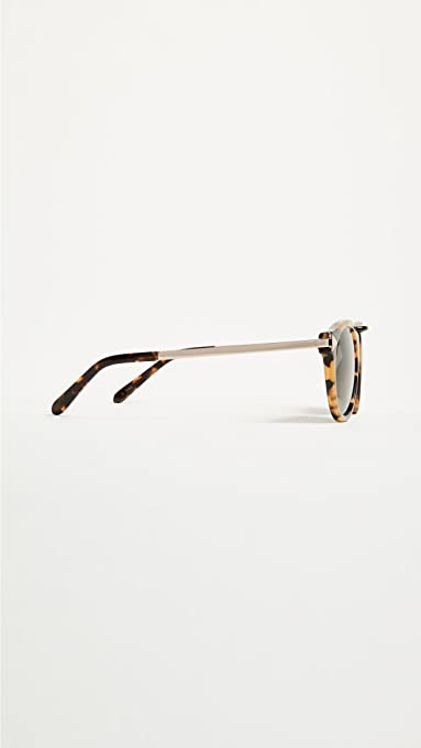 a0cc2b79ce0 Amazon.com  Karen Walker Women s Alternative Fit Helter Skelter Sunglasses
