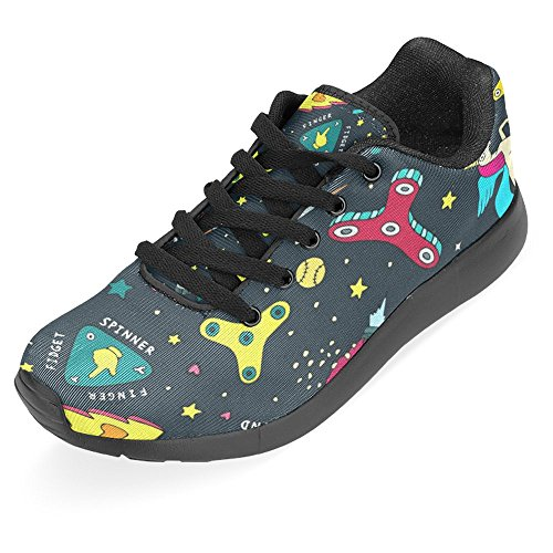 InterestPrint Womens Jogging Running Sneaker Lightweight Go Easy Walking Casual Comfort Sports Running Shoes Multi 17 Q0i2uh7