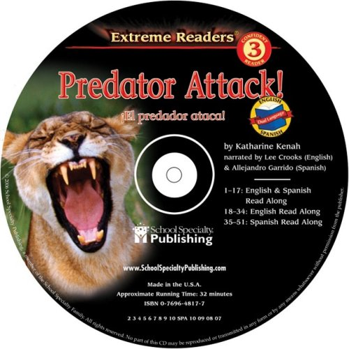 Predator Attack English-Spanish Extreme Reader Audio CD (Extreme Readers) ebook