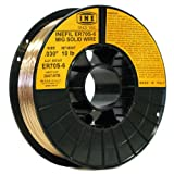 INE ER70S-6 .030-Inch on 10-Pound Spool Carbon Steel Mig Solid Welding Wire