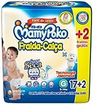 Mamypoko Fralda-Calça Tamanho G, Pacote Com 19 Unidades