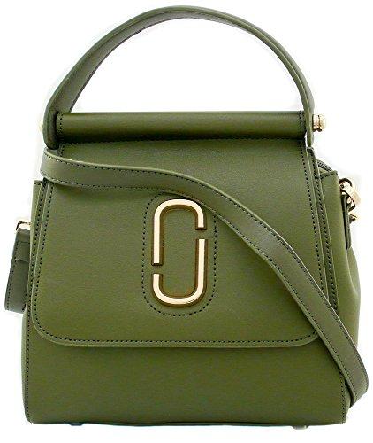 Tom & Eva Tasche Army Green Handtasche Damen Schultertasche Umhängetasche