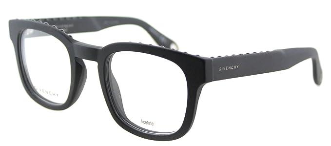 37a61641d87 Image Unavailable. Image not available for. Color  Givenchy GV 0006 0QHC  Matte Black Plastic Square Eyeglasses 49mm