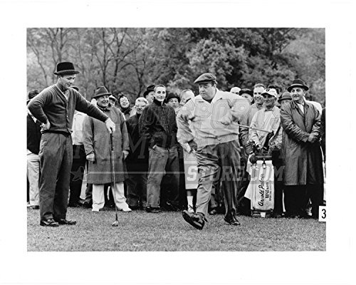 Jackie Gleason and Arnold Palmer on golf course 8x10 11x14 16x20 photo 755 - Size 11x14
