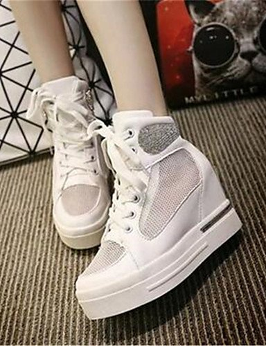 us6 white Cu mujer eu36 eu40 Blanco a uk4 white Zapatos Trabajo as Plata uk4 Tul cn36 cn36 ZQ Oficina cn41 us9 Tac¨®n de eu36 us6 Tacones Cu uk7 Casual y white xwETgYFq