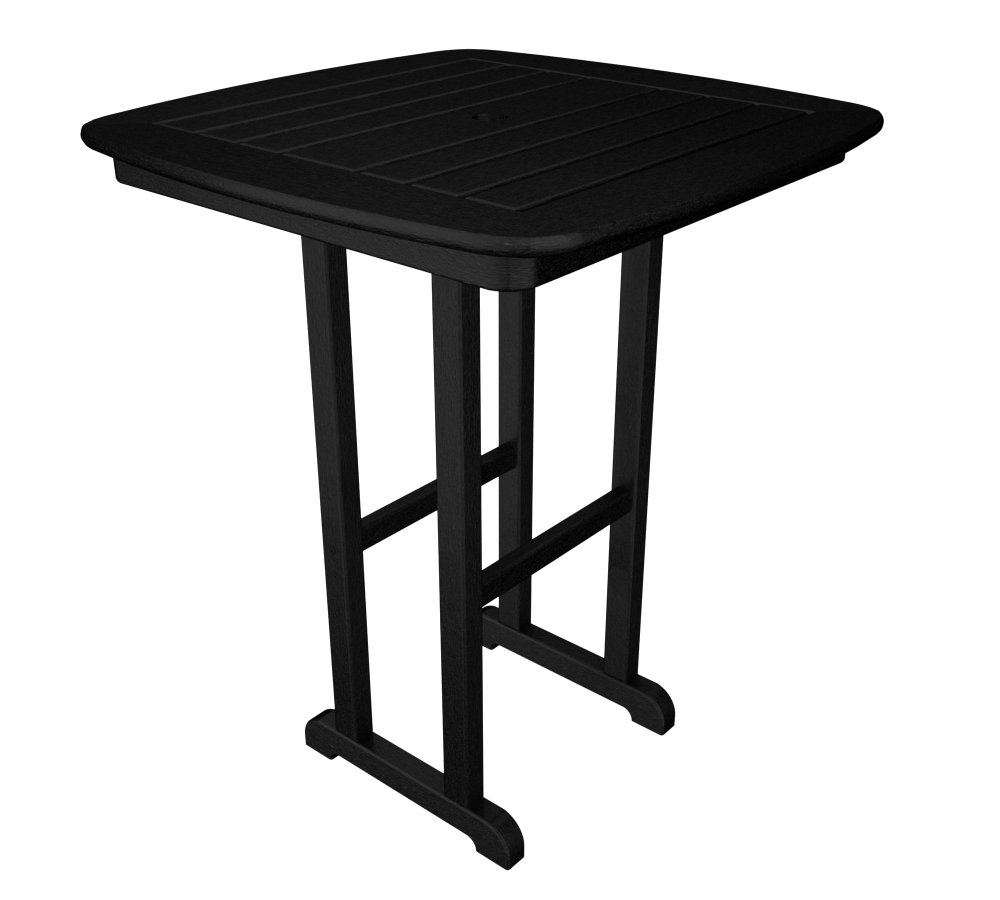 POLYWOOD Nautical Counter-Height Outdoor Table