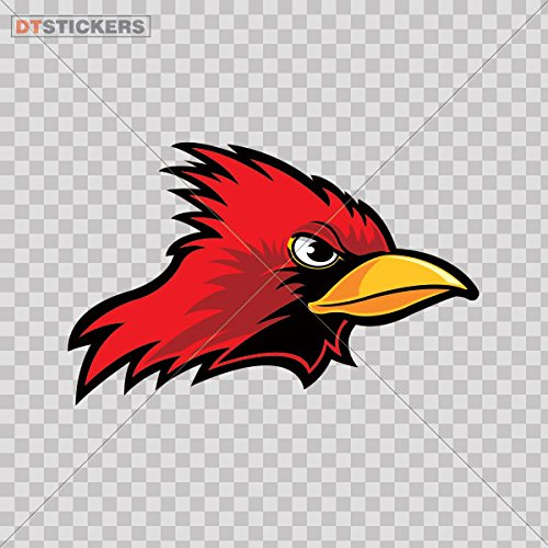 Cheap  Decoration Vinyl Stickers Angry Cardinal Decoration vinyl (4 X 2,56 In. )..