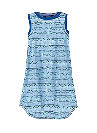 Amazon.com: McCalls Patterns M7344 Childrens/Girls Raglan Sleeve Knit Dresses, Size CCE (3-4-5-6): Arts, Crafts & Sewing