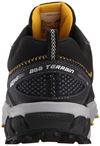 New Balance Mens MT610V5 Trail Shoe, Black/Gold Rush, 10 4E US Black/Gold Rush
