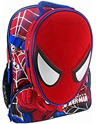 Marvel Ultimate Spider-man 16 Backpack and Insulated Lunchbox Lunch Bag