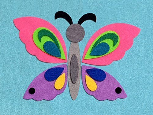 the-butterfly-flannel-interactive-board-geometric-mosaic-felt-details