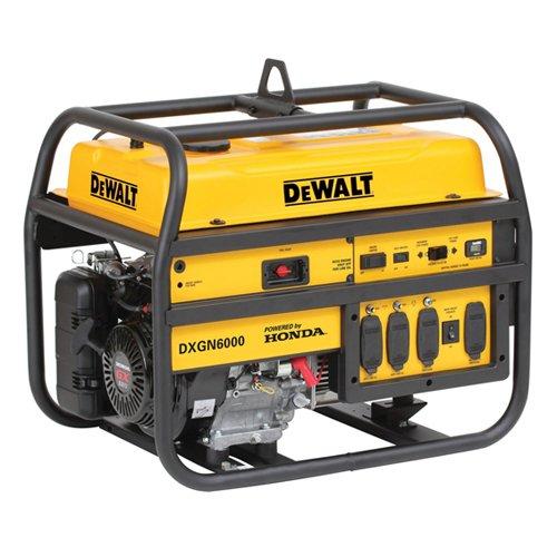 (DEWALT PD532MHI005, 5300 Running Watts/6000 Starting Watts, Gas Powered Portable Generator)