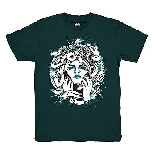 Kickset Easter 11 Low Medusa Emerald T-Shirt To Match Jordan 11 Low Easter (Easter Green T-shirt)