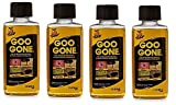 Goo Gone Remover | Greasy Residues and Messes (4Pack (2 oz))