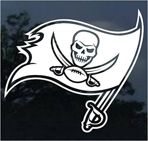 NFL Tampa Bay Buccaneers WCR25658014 Perfect Cut Decals, 8