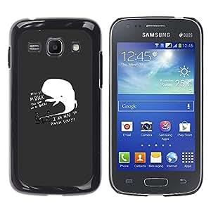 Stuss Case / Funda Carcasa protectora - DIVERTIDA - DICK BALLENA SANCIONAR - Samsung Galaxy Ace 3