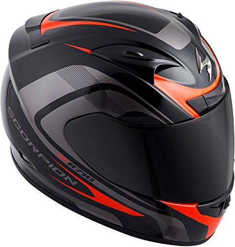 Scorpion EXO-R710 Focus Street Motorcycle Helmet (Red, X-Large)