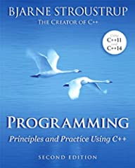 An Introduction to Programming by the Inventor of C++      Preparation for Programming in the Real World   The book assumes that you aim eventually to write non-trivial programs, whether for work in software development or in some other te...