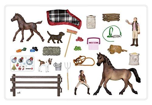 Schleich 97020 Adventskalender Pferde Weihnacht Amazonde Spielzeug
