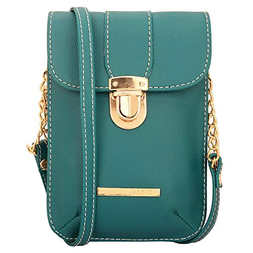 Femmes Pocket Lapis Mobile Designer Satchel O Sling Pierre Lupo Multi avec sacs Turquoise Bag TZZOxtq