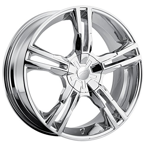 Pacer Ideal 17 Chrome Wheel / Rim 5×100 & 5×4.5 with a 42mm Offset and a 72.62 Hub Bore. Partnumber 786C-7718