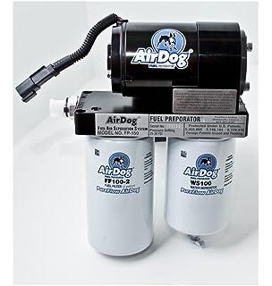 amazon com airdog a4spbc088 fuel air separation system automotive airdog 6 6 6 6l duramax diesel 100 gph lift pump filter 2001 2010