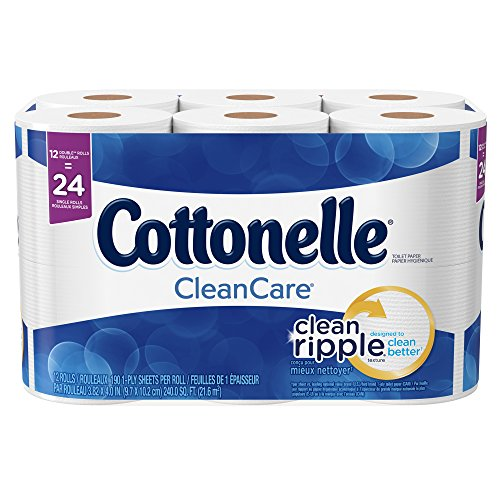 Cottonelle Professional Ultrasoft Bulk Toilet Paper for Business (12456), Standard Toilet Paper Rolls, 48 Rolls/Case for Business (4 Packs of 12)