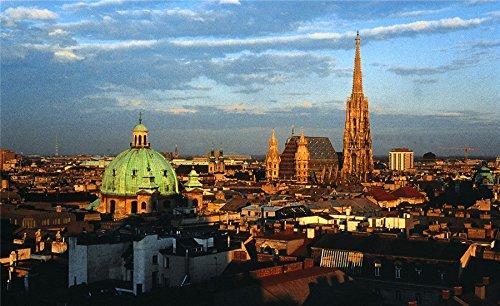 Vienna travel sites Postcard Post card