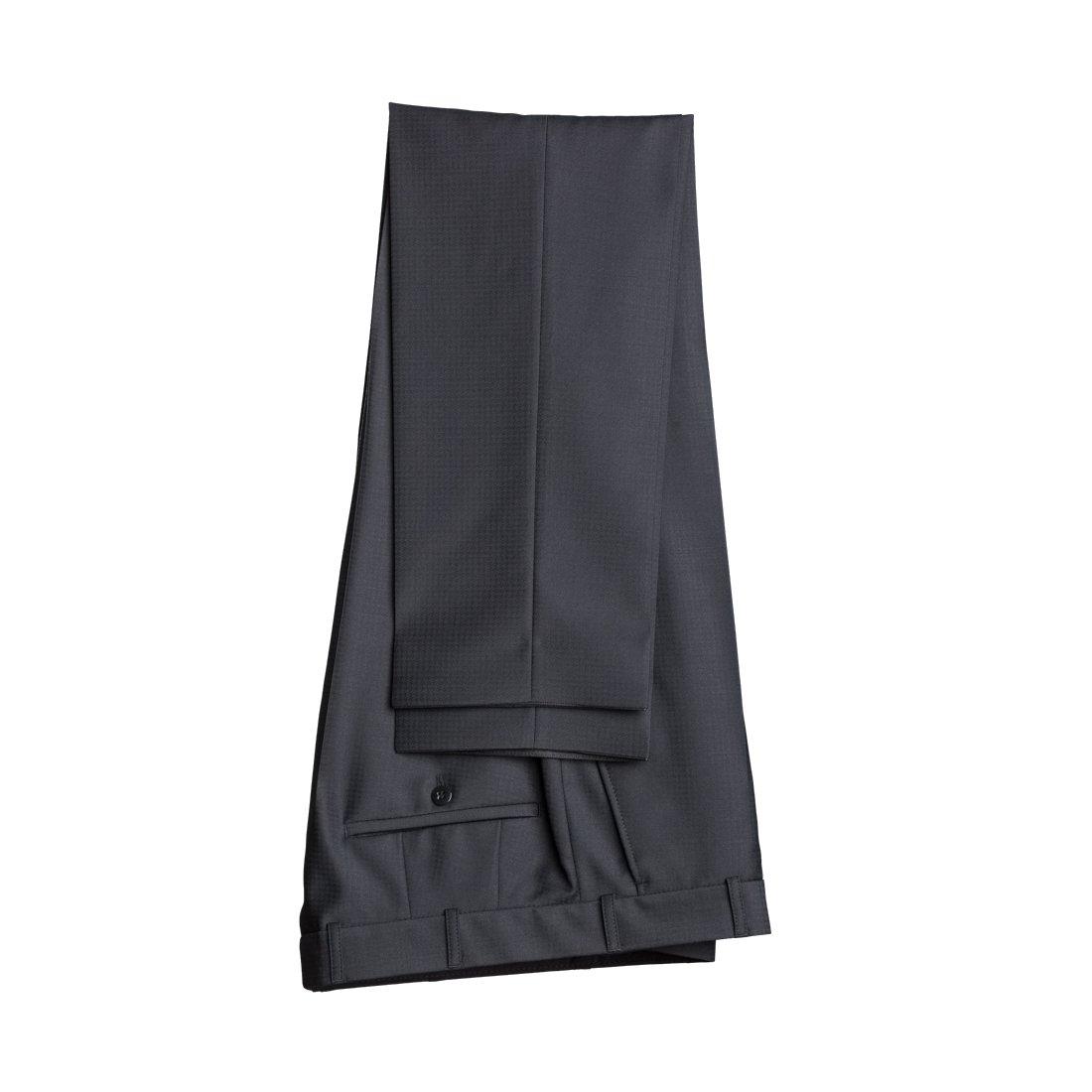 WILVORST Smoking Hose Schwarz Drop8 Extra Schmal Tailliert Geschnitten 63% Wolle 26% Polyester 7% Polyamid 4% Elasthan 270g 461206/10//724//