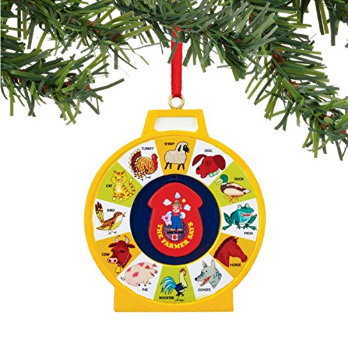 Department 56 Fisher-Price See and Say Ornament