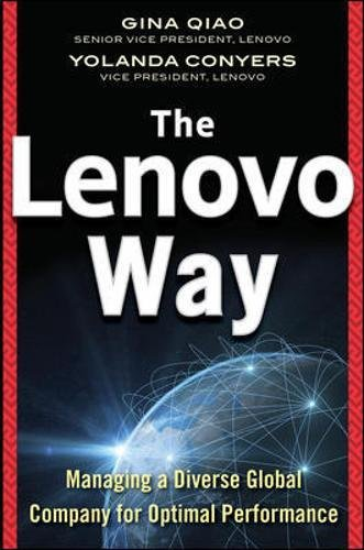 Lenovo Way Managing Performance Business