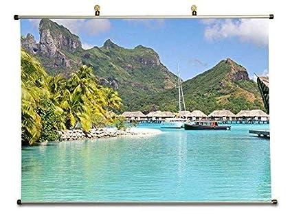 Amazon Com Perfect Holiday Resort Blue Lagoon On Tropical