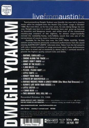 Red Distribution Yoakam D-dwight Yoakam-live From Austin Texas [wmt Sam] Dvd